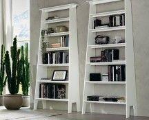 Estoril bookshelves by Gino Carollo for Cattelan Italia Classic Bookshelves, Cool Bookshelves, Bookcase Wall, Bookcases, Bookcase White, Book Shelves, Contemporary Bookcase, Contemporary Furniture, Italian Furniture