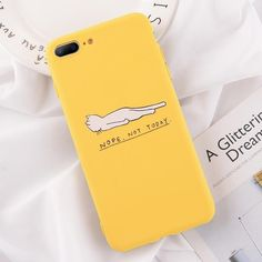 iPhone Yellow Silicone Case Cover - iPhone 11 Pro Max / Yellow