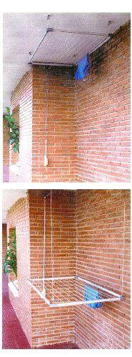 M s de 1000 ideas sobre tendedero en pinterest - Tendederos de balcon ...