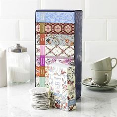 Whittard of Chelsea Finest Tea Collection - the gorgeous boxes make them great individually too, as Secret Santa gifts, stocking stuffers or  add-ons to other presents.