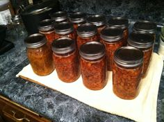 Canning Pinto Beans and Ham