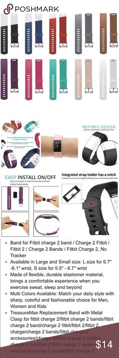 Fitbit Charge 2 Bands All small Accessories Watches
