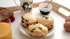 Délicieuse recette de scones aux cranberries de Jamie Oliver