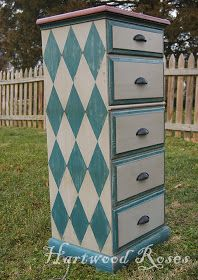 Hartwood Roses: Painted Furniture Makeovers