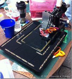 featherweight sewing machine add on bed