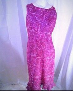 California Concepts Women's Pink Paisley Dress 12 #CaliforniaConcepts #MaxiDress #AnyOccasion