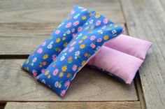 2 Flax or Rice Heating Cooling Pads Can Scent for by redheadnblue