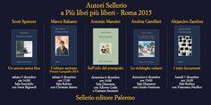 Vi aspettiamo a Roma per Più libri più liberi: Palazzo dei Congressi EUR Stand F16. E da domani con i nostri autori #Balzano, #Camilleri #Manzini #Spncer #Zambra: