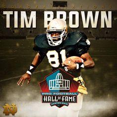 Tim Brown HOF