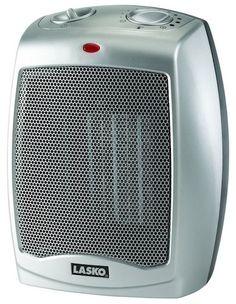 5. Lasko 754200 Ceramic Heater with Adjustable Thermostat