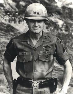 """Task Force Bayonet regrets to inform you that retired Lt. Harold """"Hal"""" Moore, and former Infantry Division Commander, passed away on February 2017 at his home in Auburn, Alabama. Moore commanded the Infantry Division in Korea from May 1970 to March Military Police, Military Veterans, Vietnam Veterans, Vietnam War Photos, Hal Moore, Korean War, American Soldiers, Military History, Us Army"""