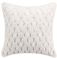 cupcakes and cashmere cupcakes & cashmere Mosaic Tile Hand Knotted Accent Pillow#ad