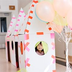 Fun ideas for throwing a DIY Neon Kids party.