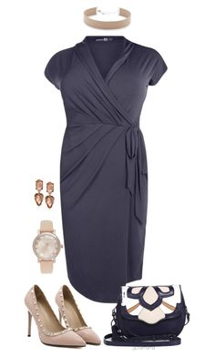 """""""Because I said so- plus size"""" by gchamama ❤ liked on Polyvore featuring Boohoo, Rebecca Minkoff, Jennifer Zeuner, Michael Kors and Kenneth Cole"""