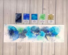 Alcohol Ink Crafts, Alcohol Ink Painting, Alcohol Ink Art, Ink In Water, Acrylic Art, Ink Color, Canvases, Artist At Work, Illustrations Posters