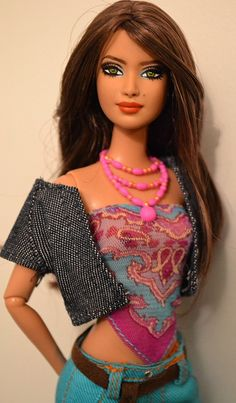 Taka- Mariachi Mexico Barbie OOAK Repaint by Doll Anatomy | Flickr