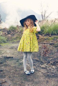 Nellystella Venessa Dress in Butterfly Garden - Preorder