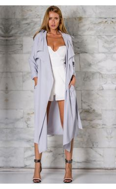 ❤Manteau WhiteFoxBoutique: http://www.whitefoxboutique.com/new-arrivals/kingdom-trench-dove-grey