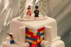 This Bakery Is Getting Requests From All Over The World Over Their Lego Wedding Cake
