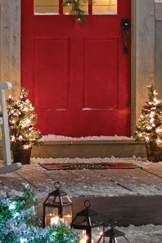 Flank the Front Door - GoodHousekeeping.com