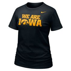 Nike Iowa Hawkeyes Ladies 2013 Local T-Shirt - Black