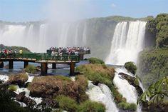 Cataratas do Iguaçu, via Flickr.