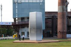 daan roosegaarde's smog free project brings clean air to china
