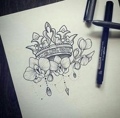 Fuck the crown saving for the orchids. Incorporate into my next piece