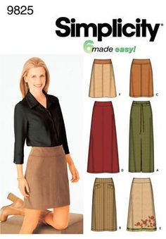 Sewing Pattern Tops Summer Blouses Women Girls New Look Simplicity ...