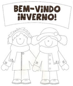 35 ATIVIDADES DE INVERNO DESENHOS COLORIR IMPRIMIR | PORTAL ESCOLA Little Monsters, Happy Day, Beautiful Images, Paper Dolls, Quilt Patterns, Diy And Crafts, How To Memorize Things, Preschool, Snoopy