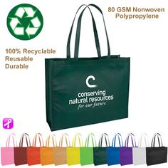 Large Nonwoven Tote Bag with Gusset - Reusable Shopping Tote Bag Promotional Large Nonwoven Tote Bag with Gusset - Reusable Shopping Tote Bag