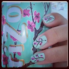 get inspired with painting your nails :)