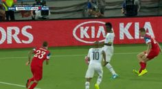Andre Ayew tied it for Ghana late in the second half #WorldCup #FIFA2014