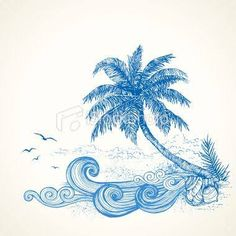 Image result for tropical drawing ideas