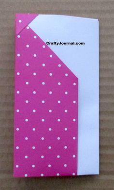 8 Pocket Folder from One Sheet of Paper Diy Paper, Paper Crafts, Folder Diy, Pocket Page Scrapbooking, Paper Pocket, Christmas Gift Card Holders, Notebook Paper, Book Folding, Handmade Books