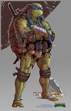 TMNT Leonardo. by le0arts.deviantart.com on @DeviantArt