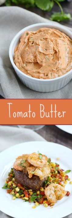 This flavorful Tomato Butter can be used in place of plain butter to top steaks…