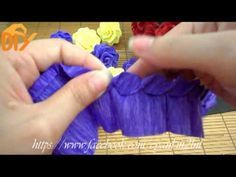 Twisted rose paper flower – Hoa hồng xoắn giấy – Minh Wind – Watch for everyone Paper Flowers Craft, How To Make Paper Flowers, Large Paper Flowers, Paper Flower Backdrop, Flower Crafts, Flower Paper, Crepe Paper Roses, Paper Peonies, Rose Tutorial