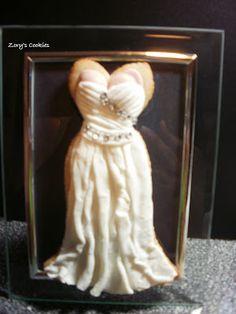 Zory's Cookies And Mini Cakes: Wedding Dresses