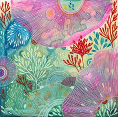 Original Painting by Yellena James  Astral by yellena on Etsy, $180.00