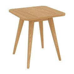 Stockholm Side Table - Oak - Scandinavian Furniture 15% OFF | $144.00 - Milan Direct
