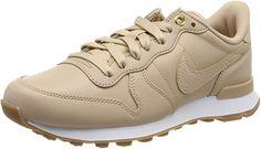 Nike Women's W Internationalist PRM Running Shoes Beige Sneakers, Sneakers Nike, Nike Retro, Nike Internationalist, Running Fashion, Amazon Associates, Casual Shoes, Running Shoes