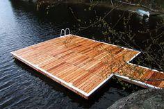 Lake Joseph Floating Dock
