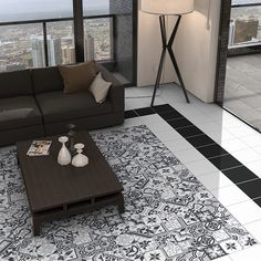 We sell Borne Grey Patterned Porcelain Tiles Contemporary, Rugs, Grey, Porcelain Tiles, Home Decor, Farmhouse Rugs, Gray, Decoration Home, Room Decor