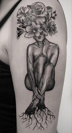 Feminine Tattoo Sleeves, Feminine Tattoos, Sexy Tattoos, Body Art Tattoos, Small Tattoos, Woman Body Tattoo, Finger Tattoos, Tatoos, Dope Tattoos For Women