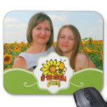"""Unbelievable Granny Photo with Sunflowers Mouse Pad -                                    Unbelievable Granny Photo with Sunflowers Mouse Pad   $  14.95  by DesignsOutOfMind    mothers day: Zazzle.com Store: Matching """"mothers day""""  http://47beauty.com/unbelievable-granny-photo-with-sunflowers-mouse-pad/"""