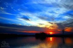 """Sunset Blue"" by Sherry S. Boles, via www.betterphoto.com"