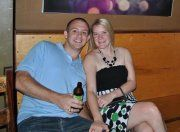 My daughter Morgan and her husband Ryan.  Love them bunches.