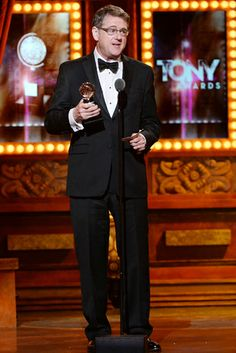Robert L. Freedman accepts the award for Best Book of a Musical for 'A Gentleman's Guide to Love & Murder' onstage during the 68th Annual Tony Awards at Radio City Music Hall on June 8, 2014 in New York City.   Credit: Getty Images for Tony Awards Pro