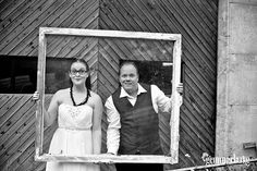 Iselin and Nils' Grungy Bridal Session in a Norwegian Fishing Village